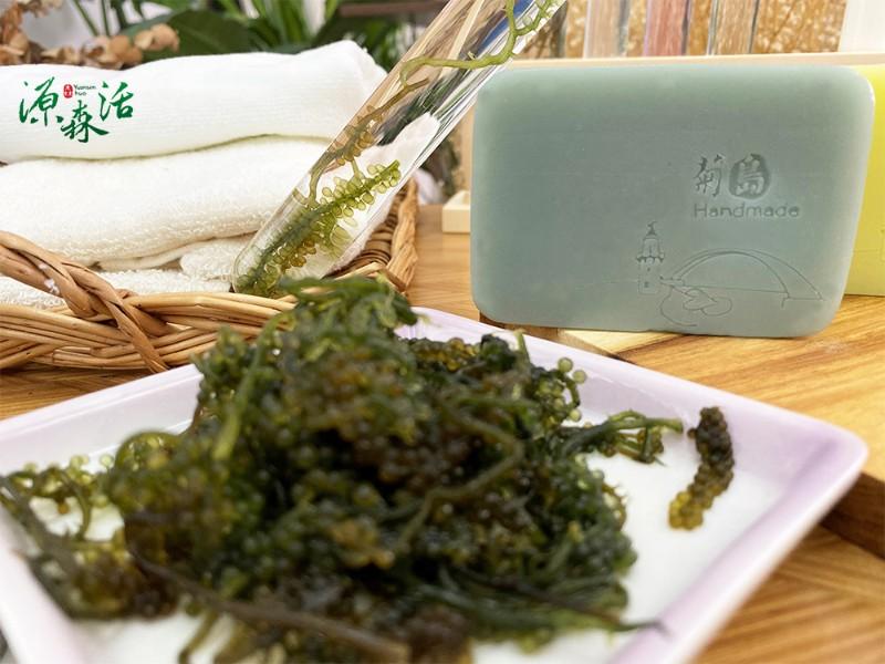 菊島海葡萄 潤澤保濕手作皂160g±5%