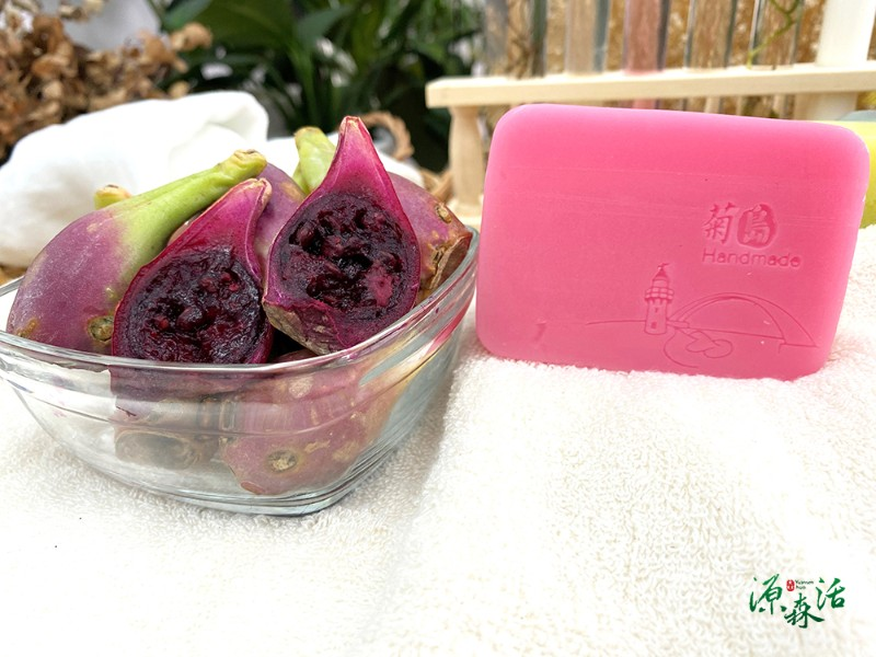 菊島仙人掌 淨化手作皂160g±5%