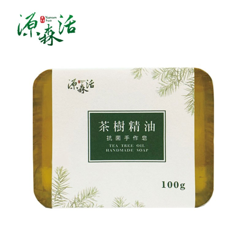 茶樹精油抗菌手作皂100g±5%